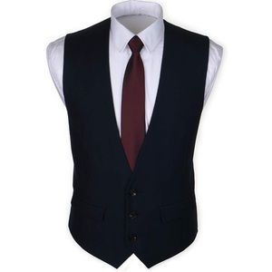 NEW✨ Men's Dark Navy Blue Vest